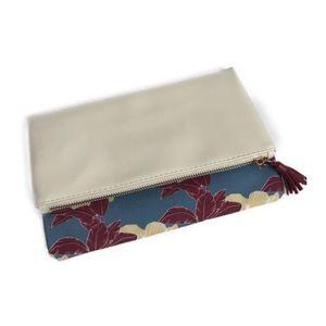 Rachel Pally Limited Fold Reversible Clutch Tassel
